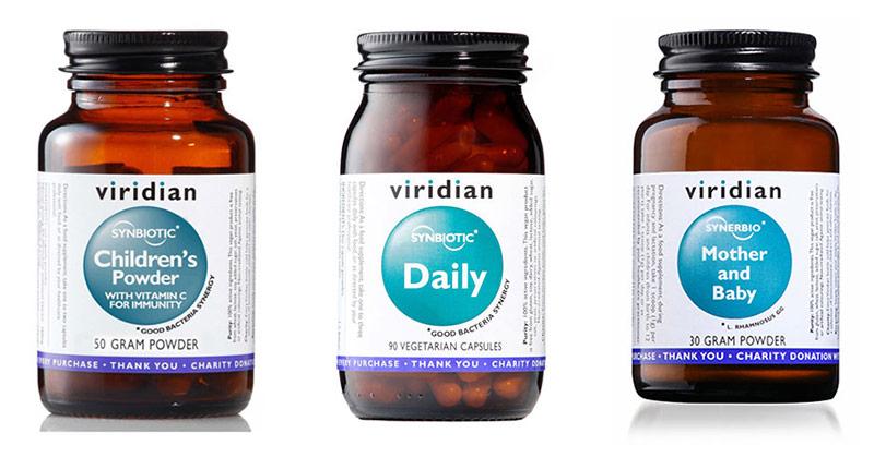 Probiotiki Viridian